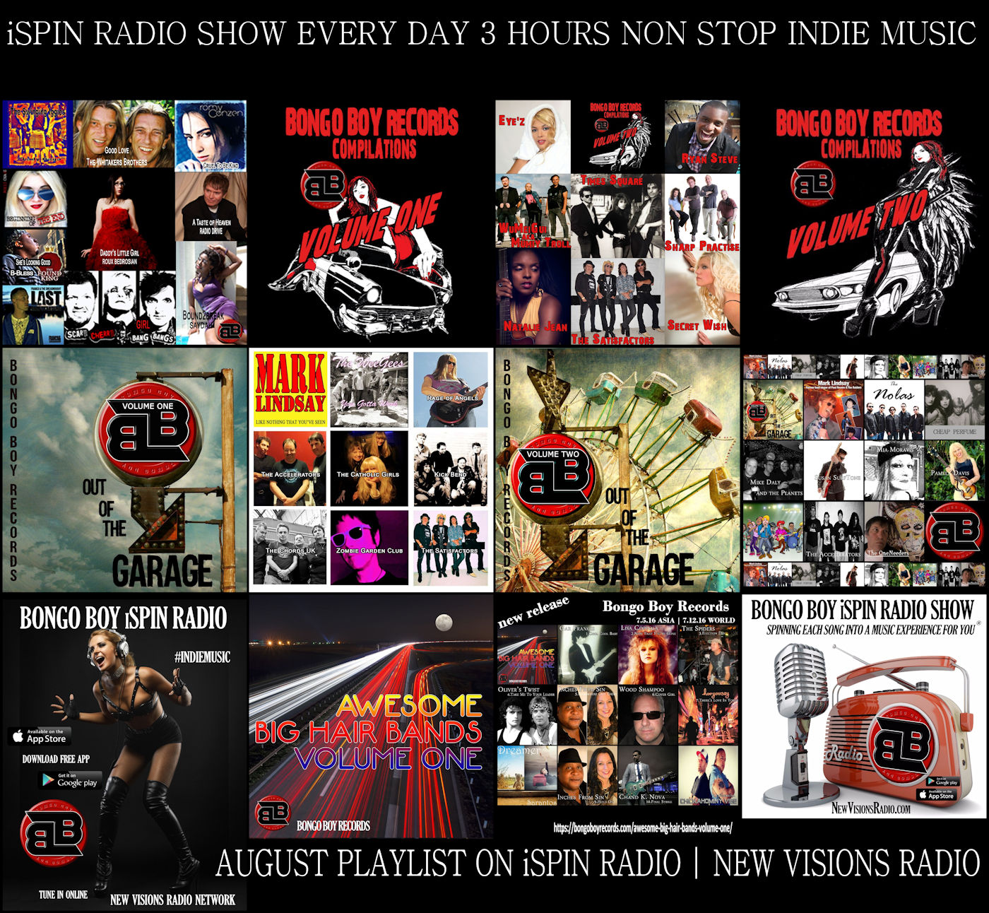 August iSpin Radio Show